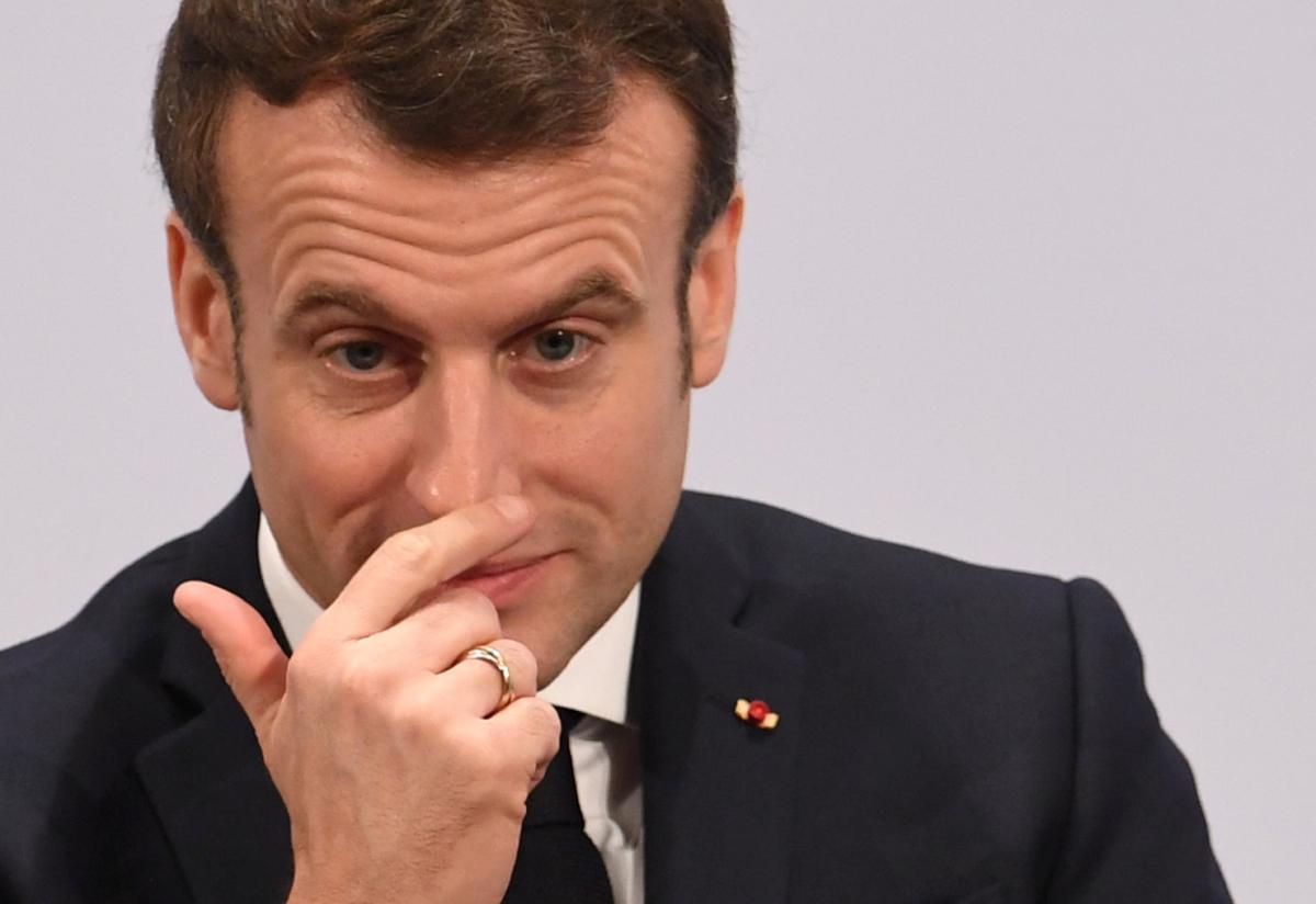France's leader Macron / REUTERS