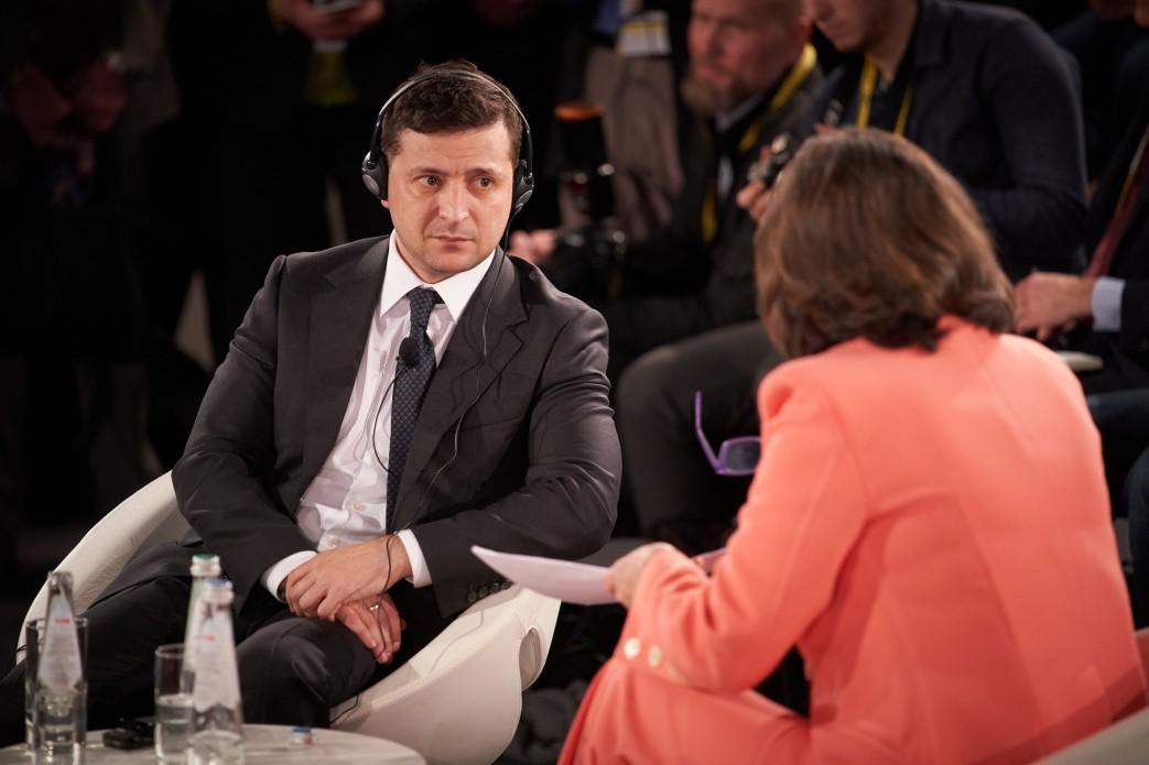 Владимир Зеленский выступил на Мюнхенской конференции по безопасности / фото president.gov.ua
