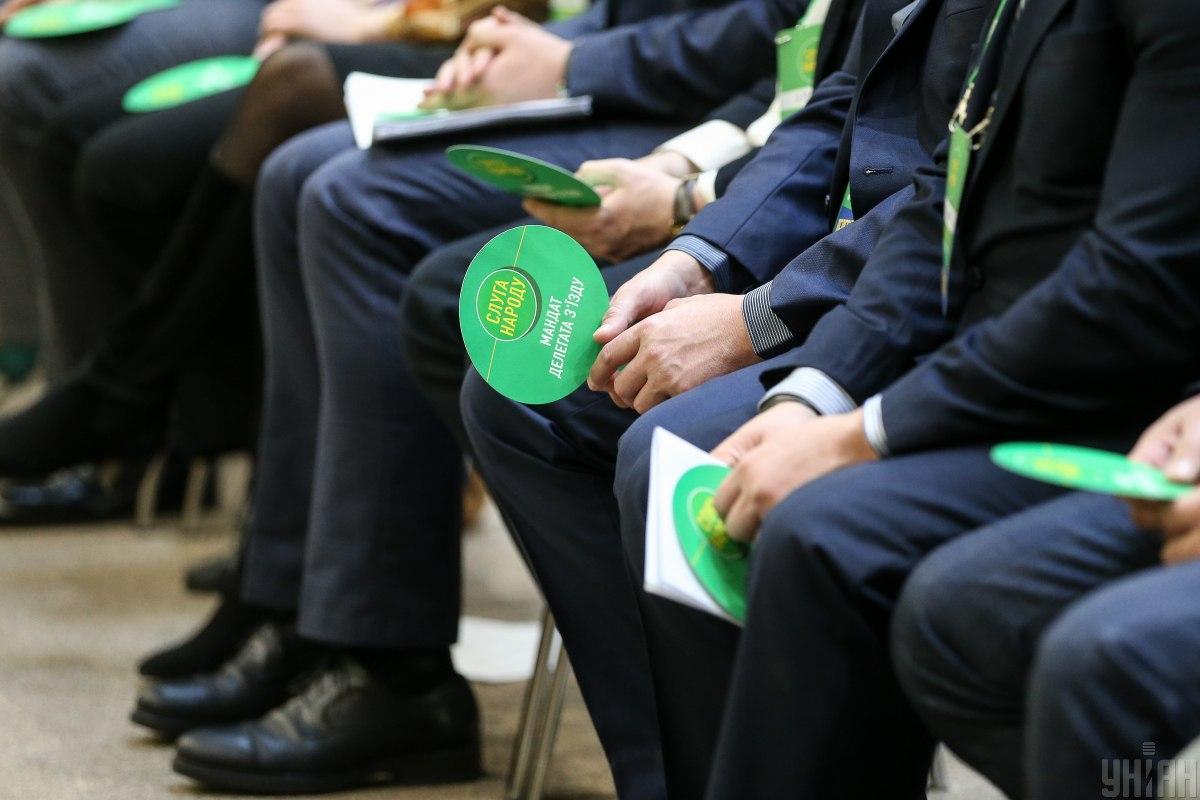 """Партия """"Слуга народа"""" возглавляет рейтинг симпатий украинцев / фото УНИАН"""