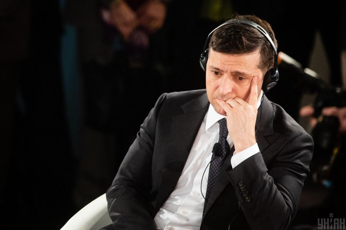 Зеленскому не нравится, когда Трамп называет Украину коррумпированной / фото УНИАН
