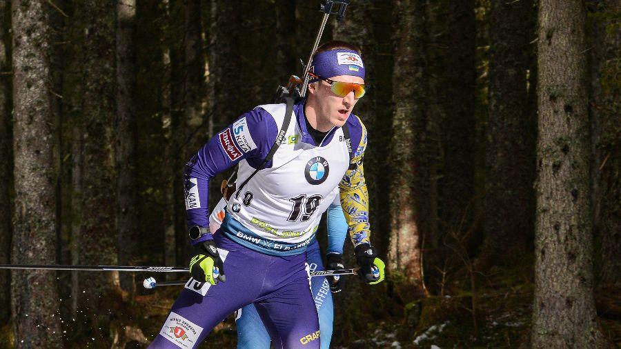 Пидручный показал свой второй лучший результат в сезоне / фото biathlon.com.ua