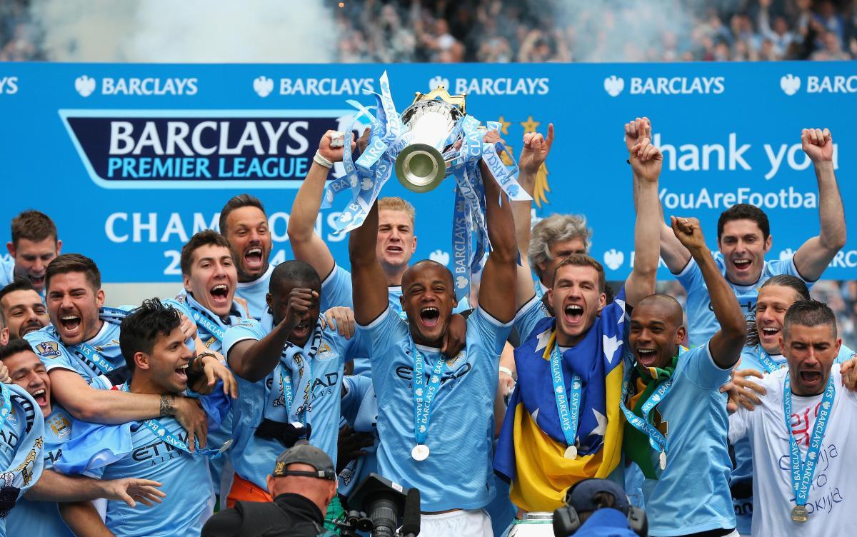 Манчестер Сити выигрывал чемпионский титул в 2014 году / фото: mancity.com