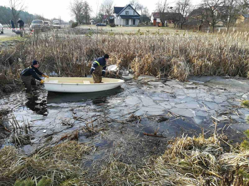 Четверо людей втопилися в озері, внаслідок падіння туди авто / dsns.gov.ua