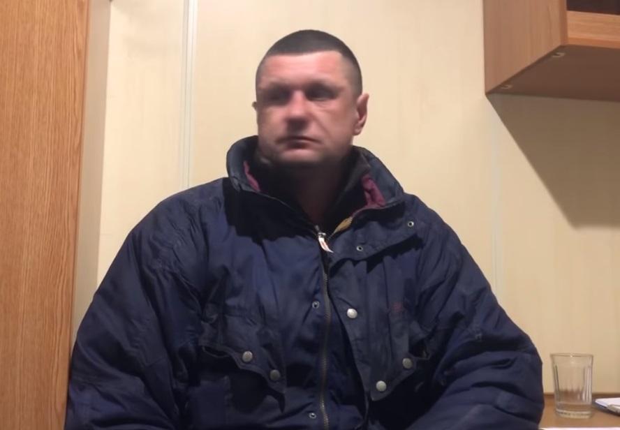 Ukrainian fisherman Maksym Terekhov / screenshot