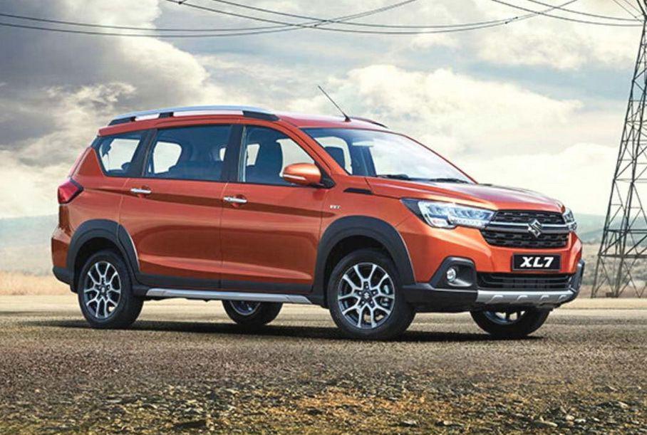 Конструктивно Suzuki XL7 очень близок микровэнам Ertiga  XL6