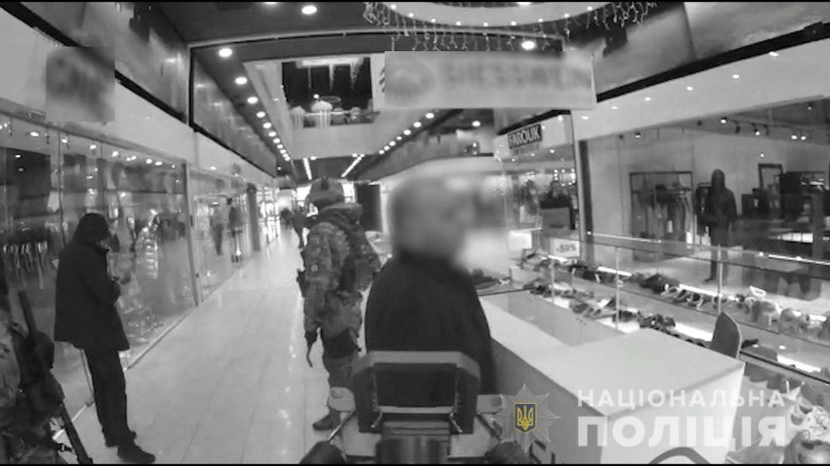 Затримання відбулося в одному з ТРЦ / фото npu.gov.ua