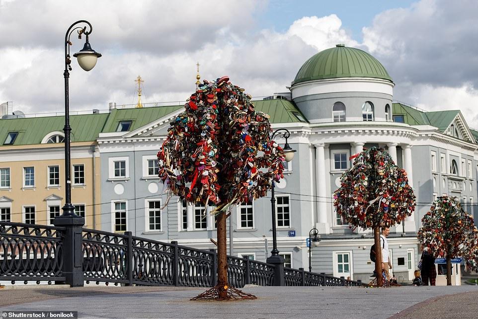 Деревья любви в Москве