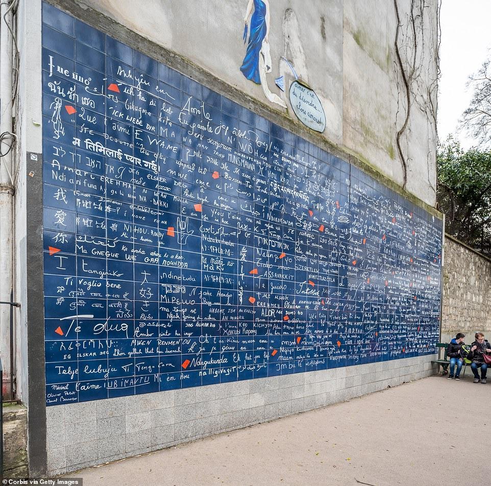 "Мурал ""Я люблю тебя"" в Париже"