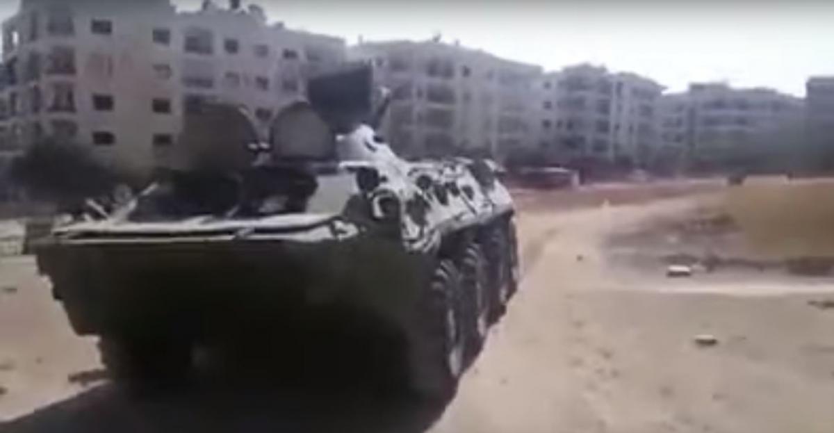 Повстанцям-джихадистамдовелося повністю здати Анаданськурівнину / фото: almasdarnews