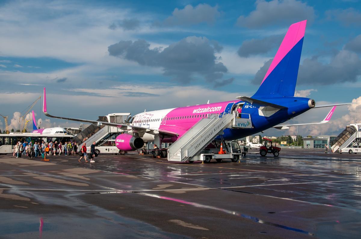 В Wizz Air заявили, что постоянно отслеживаютэффективность своих рейсов / bigkiev.com.ua