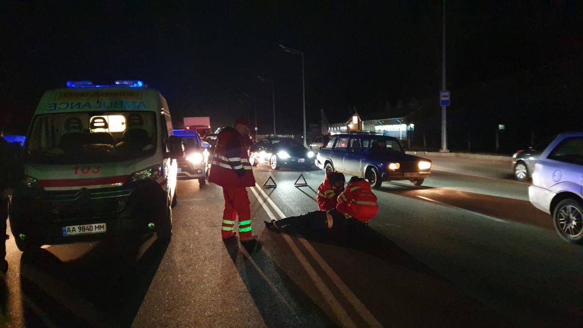 В результате аварии погиб человек / фото: brovary.net.ua