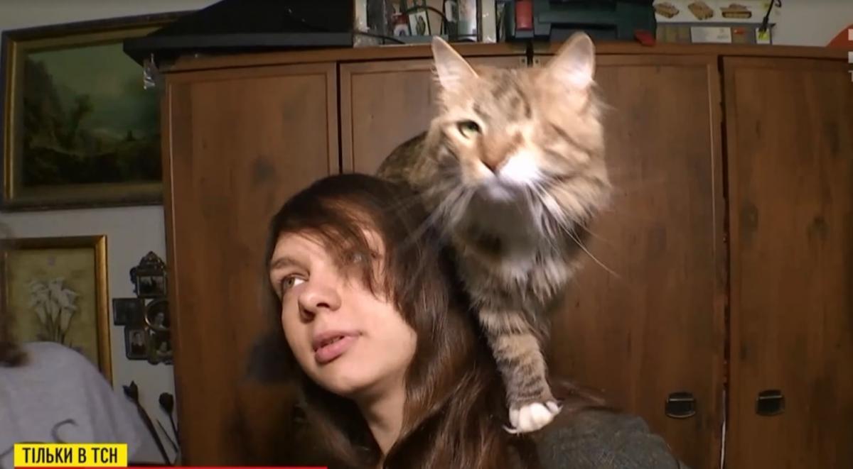 Одноглазая кошка Бронхита / скриншот
