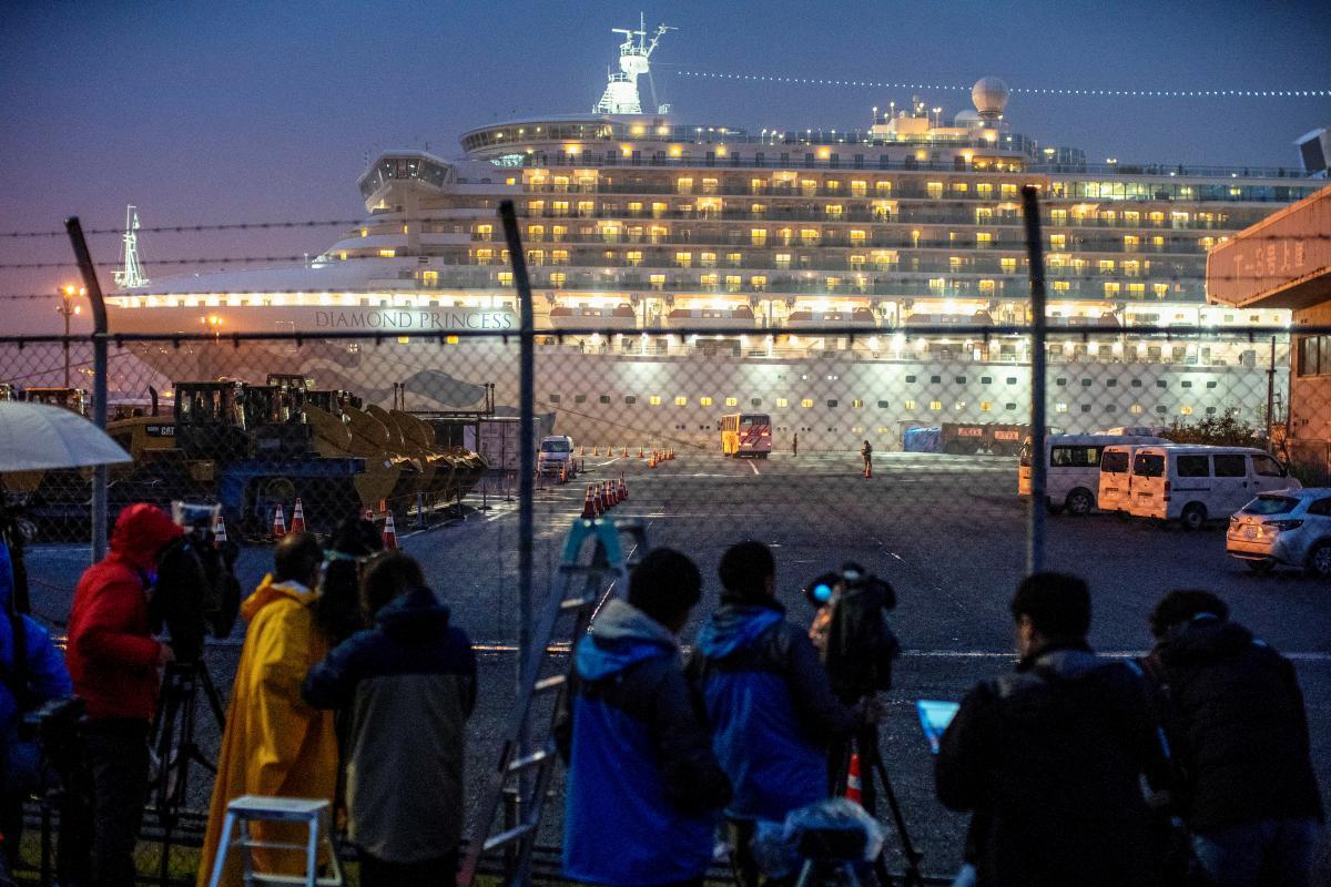 Круїзний лайнер Diamond Princess / REUTERS