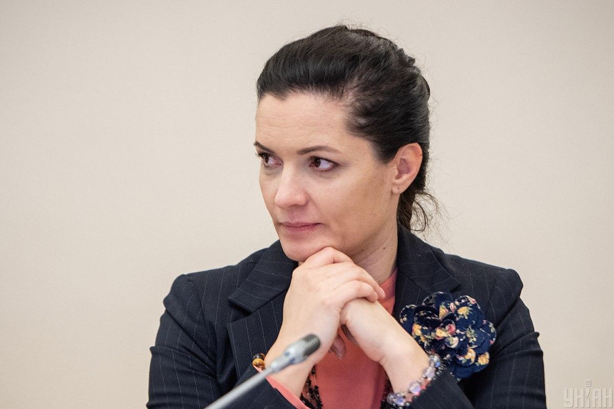 Министр здравоохранения Украины Зоряна Скалецкая / фото УНИАН
