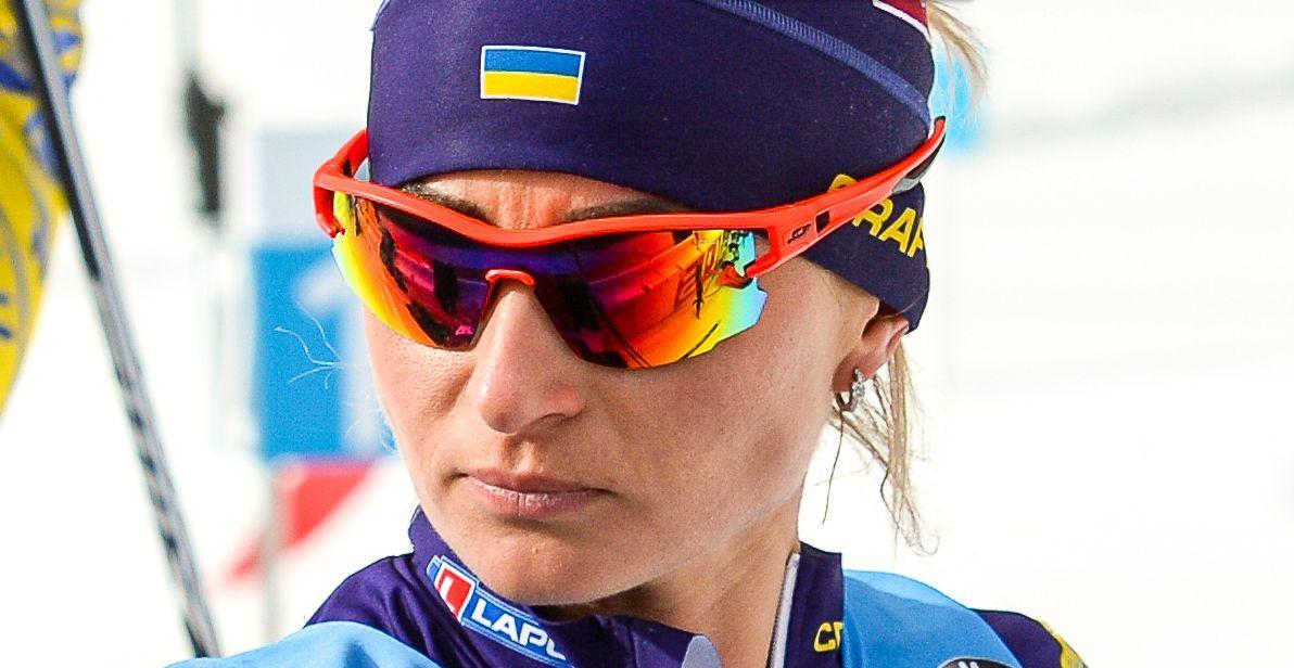 Валентина Семеренко в индивидуальной гонке стала 42-й / фото: biathlon.com.ua