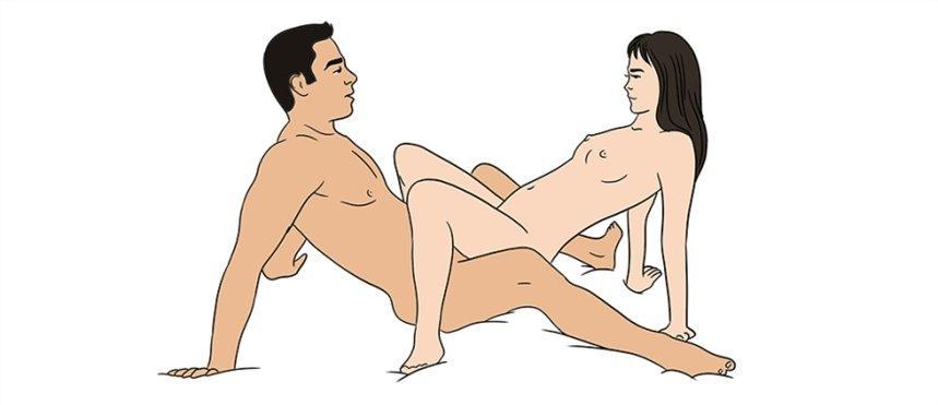 """Секс-поза """"краб"""" / miridei.com"""