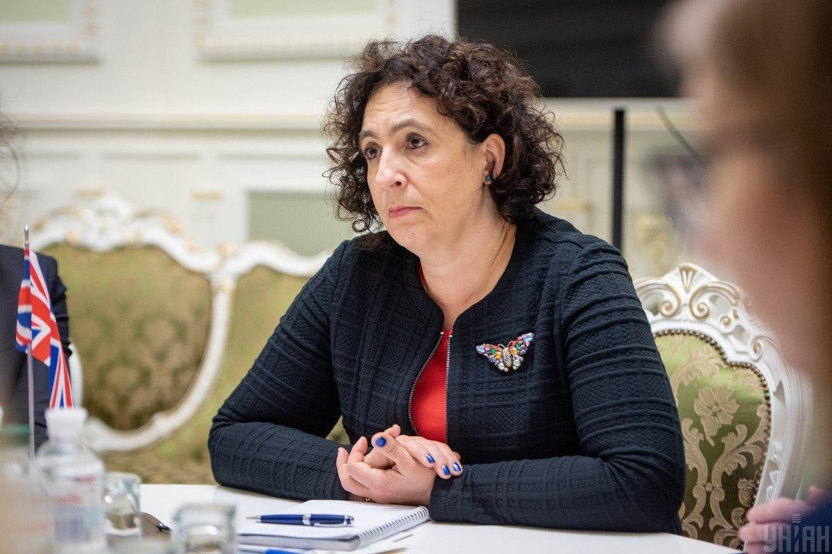 Ambassador Melinda Simmons / Photo from UNIAN