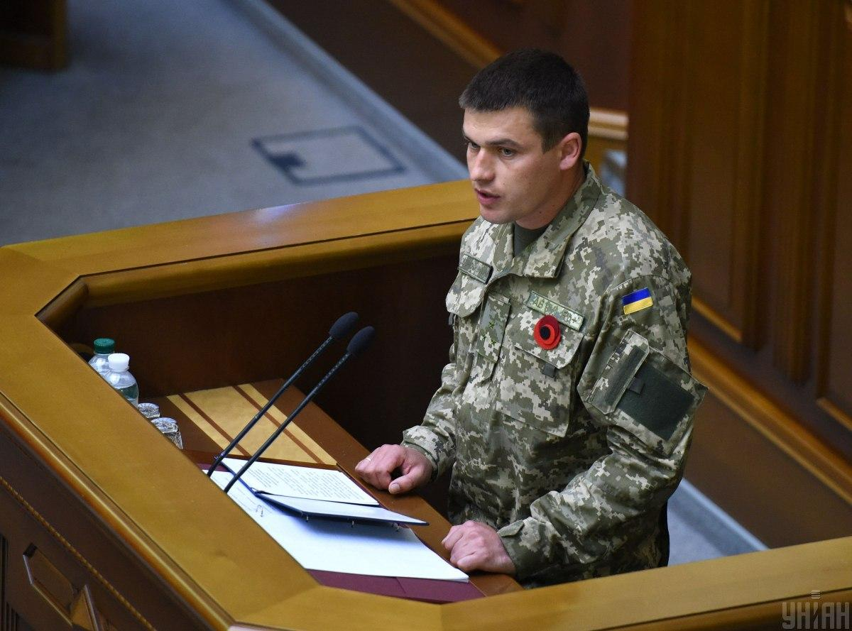 Герой України Володимир Гринюк / фото УНІАН