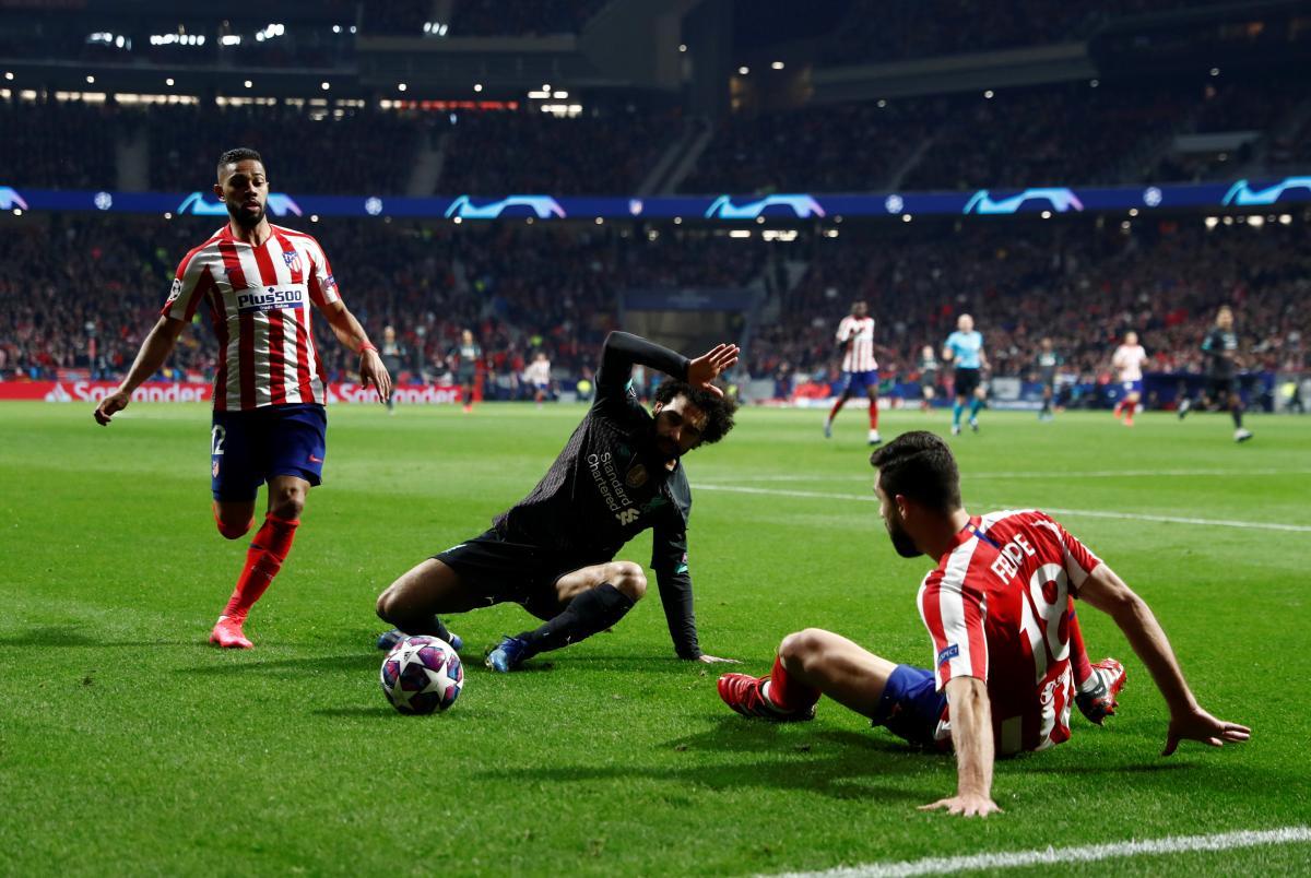 Атлетико Мадрид - Ливерпуль 1:0