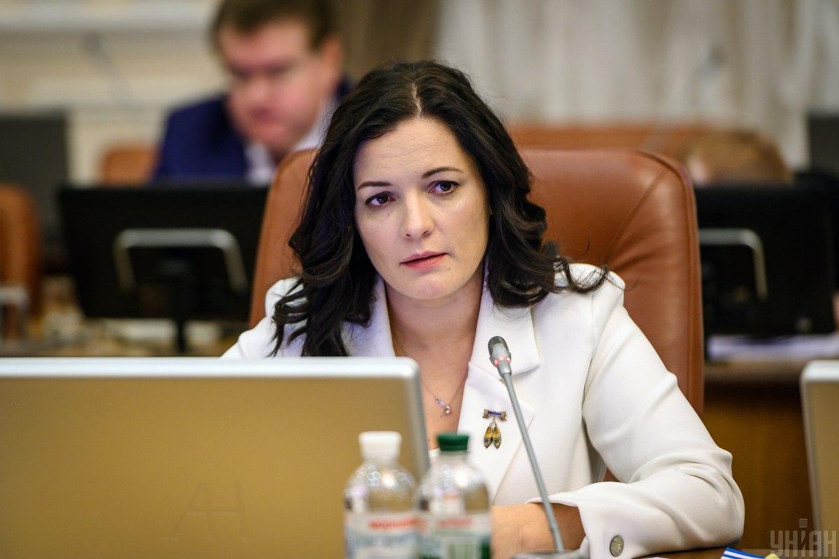 Зоряна Скалецкая уверяет, что будет на постоянной связи с министерством / фото УНИАН