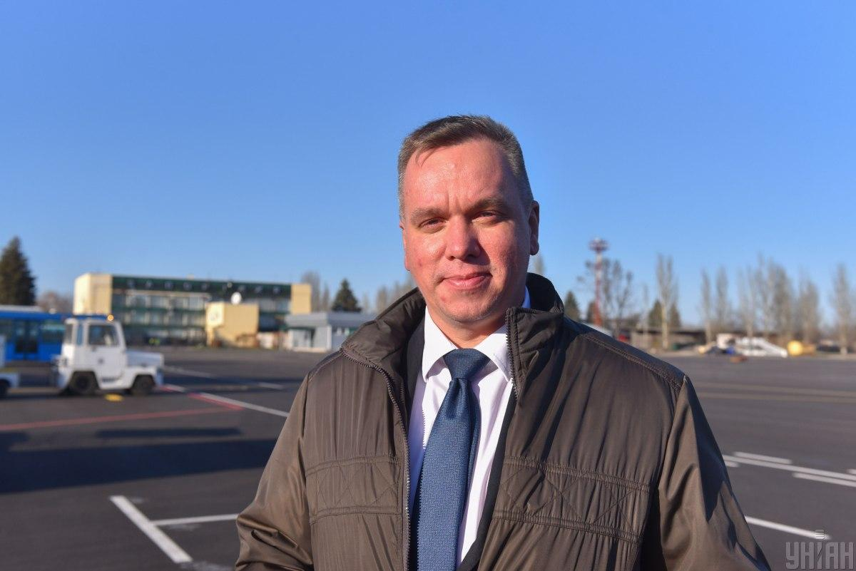 Генеральный директор SkyUp Airlines Евгений Хайнацкий / фото УНИАН