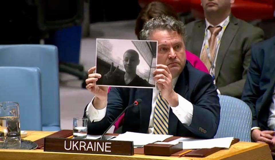 Сергій Кислиця показав фото вбитого вчора українського військового / фото ukraineun.org
