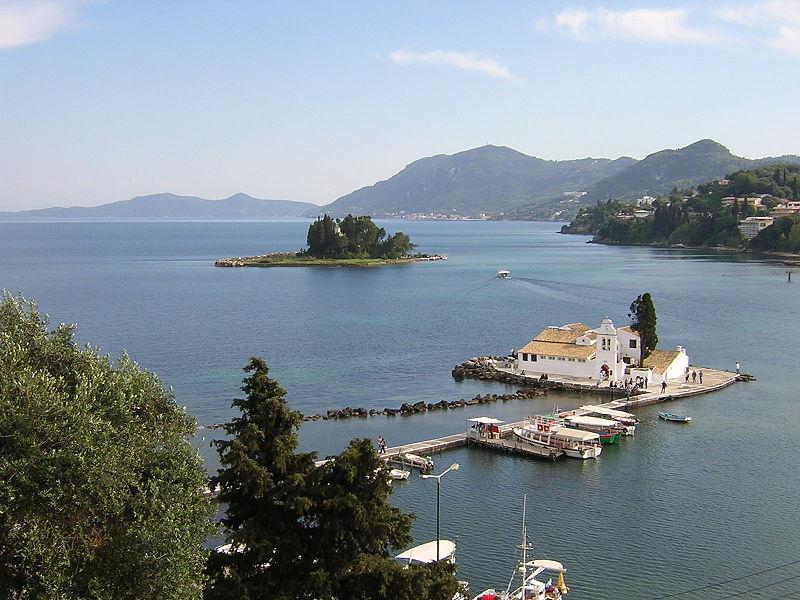 Греческий остров Корфу (он же Керкира) / Фото en.wikipedia.org
