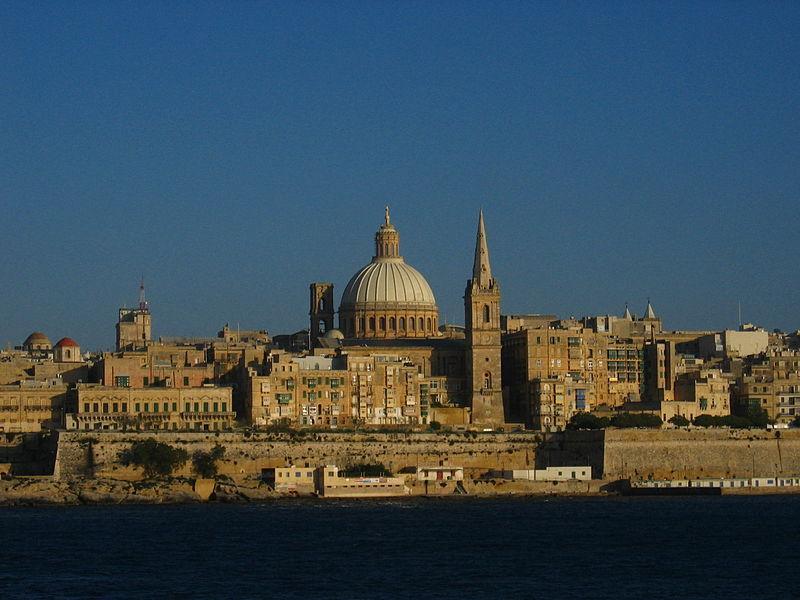 Вид на мальтийскую столицу Валетту / Фото en.wikipedia.org