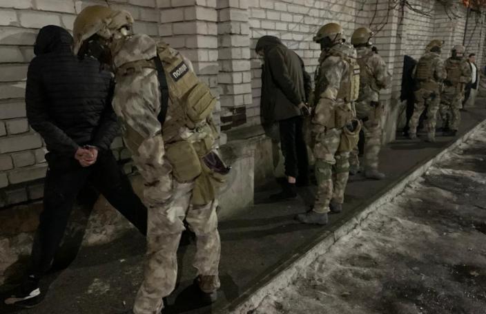 Спецоперацию по задержанию провели в центре города / dp.npu.gov.ua