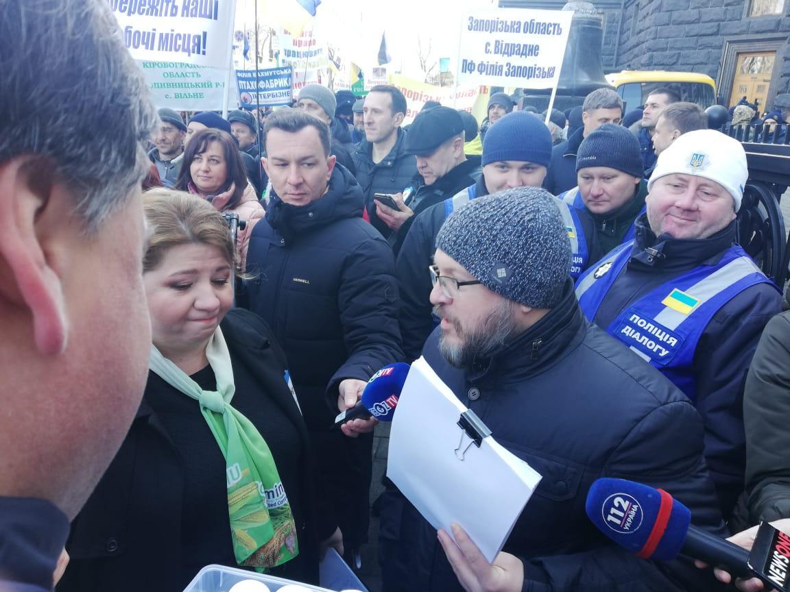 Общество: Аграрии Житомирщины на митинге в Киеве призвали депутатов уволить коррупционера Сытника с НАБУ