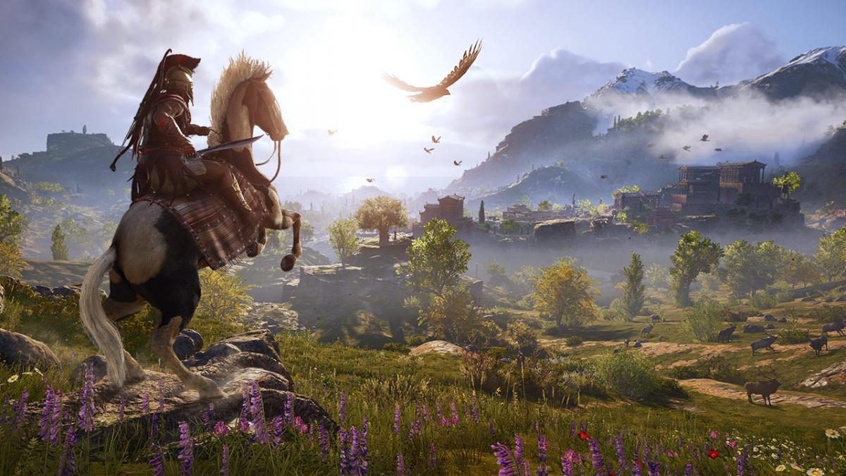Assassin's Creed Odyssey со скидкой 53% / store.playstation.com