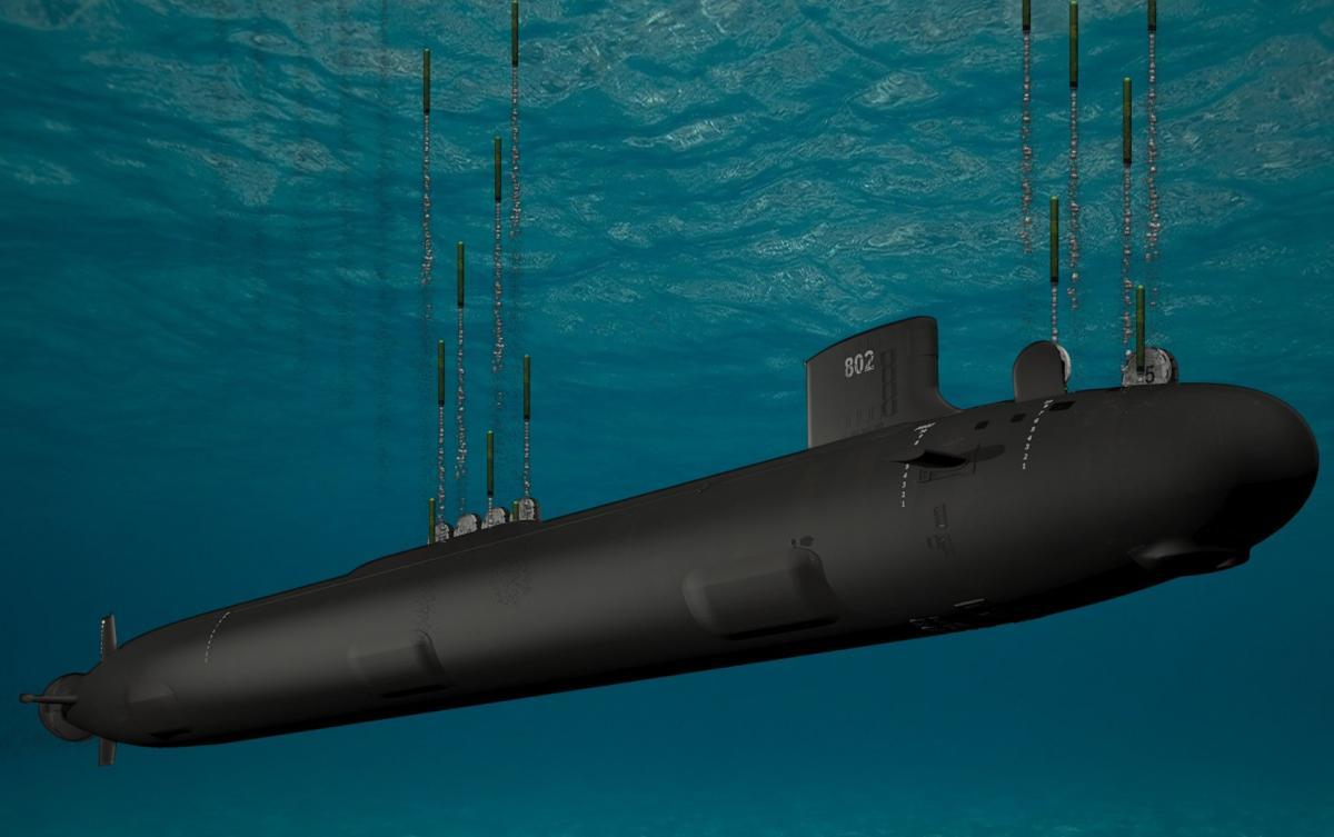 Американці розмістять гіперзвуковузброюна підводних човнах / General Dynamics Electric Boat Image