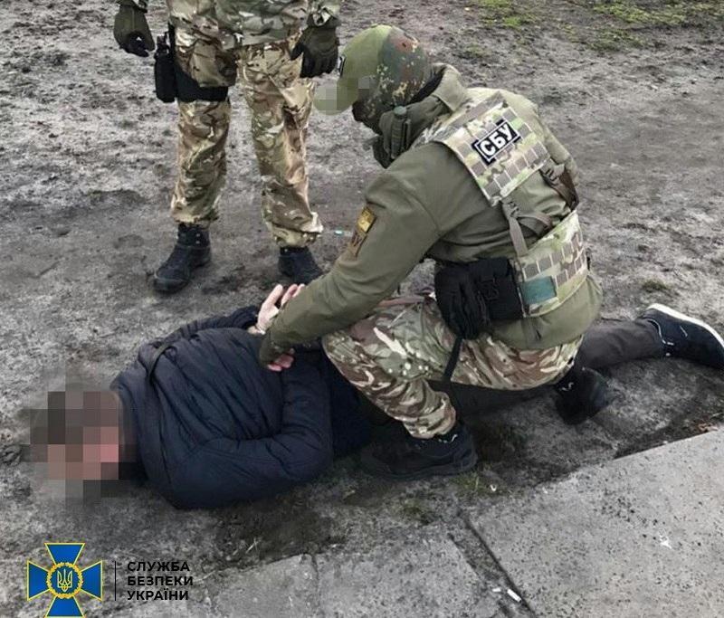 """Контрразведка СБУ задержала агента так называемого """"МГБ ЛНР"""" / фото ssu.gov.ua"""