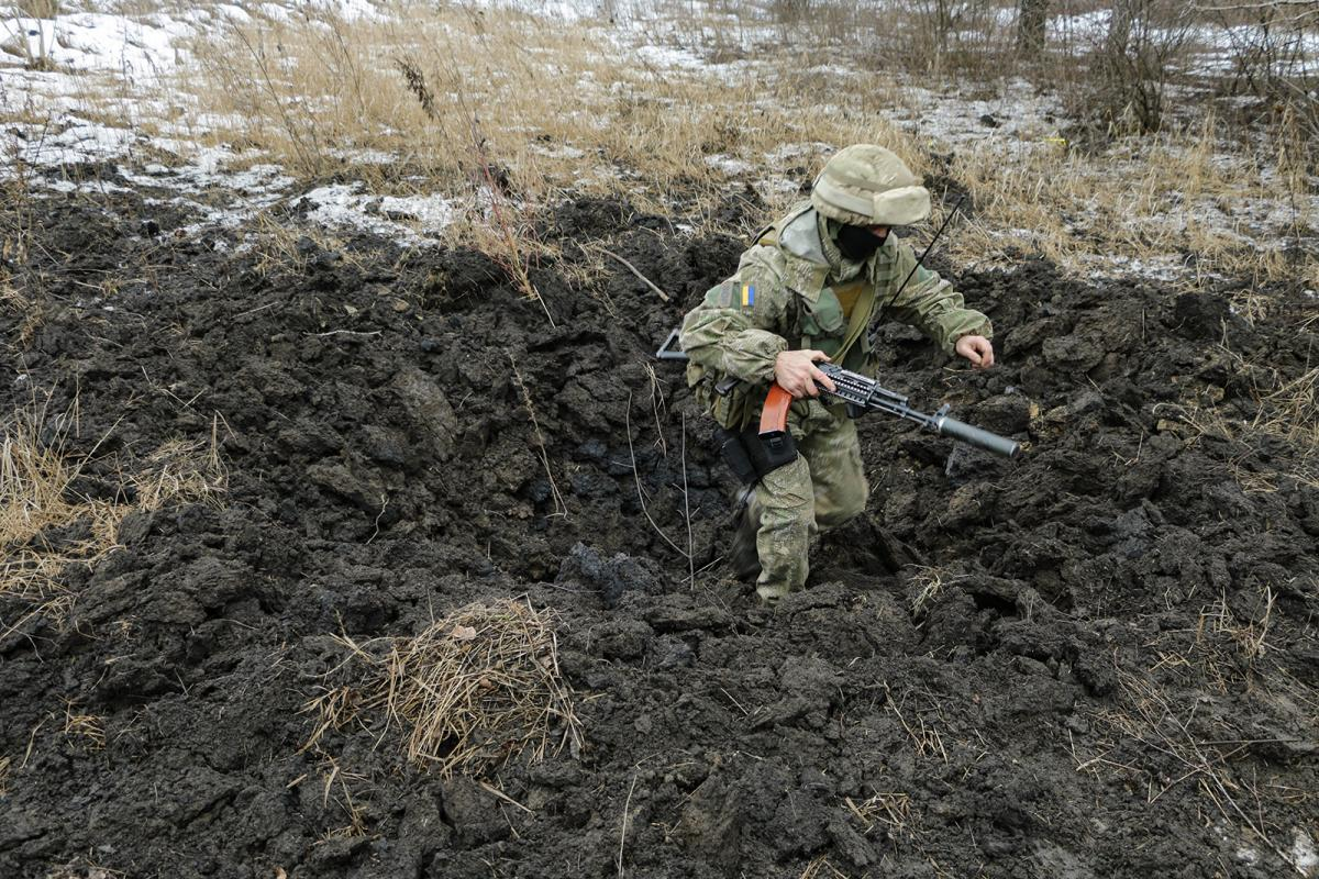Террористы 18 января пытались пойти в наступление на Луганщине / фото Минобороны