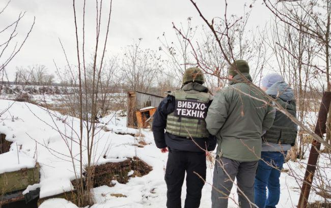 В зоне ООС продолжается разминирование / фото: штаб ООС