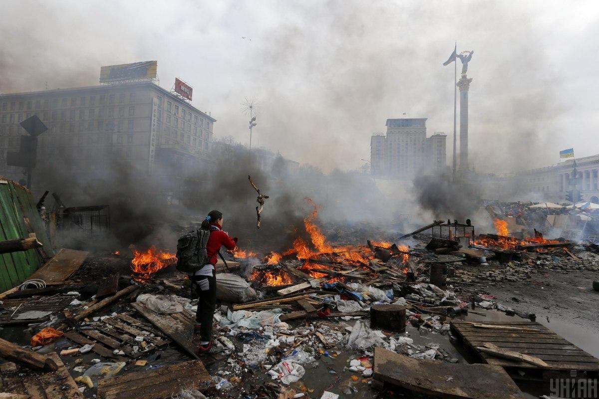 Cегодня - годовщина трагедии Евромайдана/ УНИАН