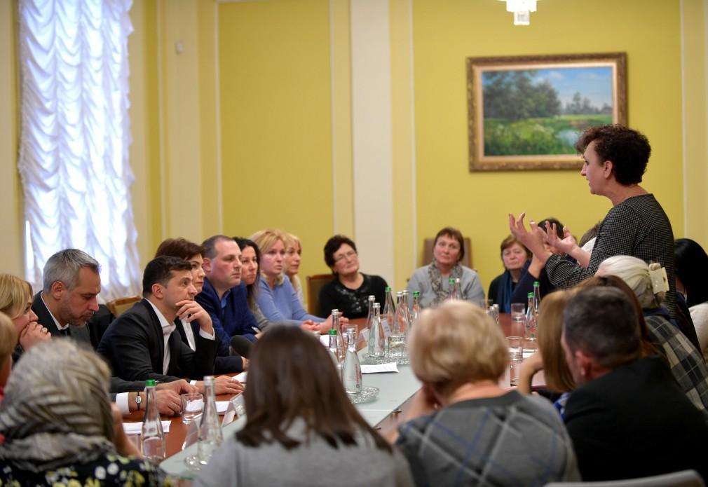 Президент пообещал расследования преступлений / Фото: Офис президента