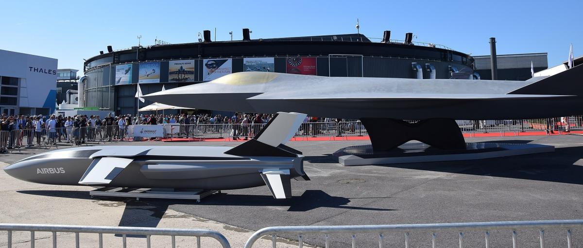 Модель самолета системы ведения воздушных боев будущего/ фото wikipedia