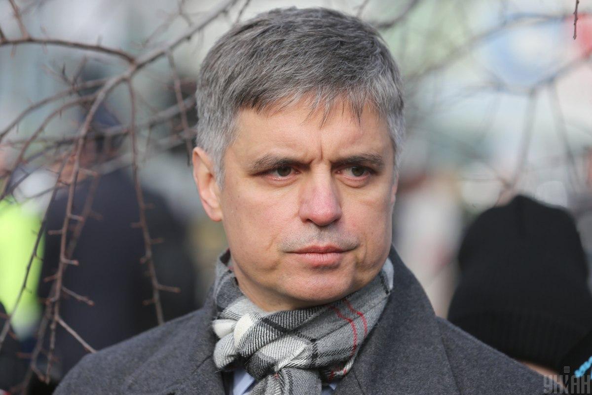 По словам Пристайко,на оккупированной территории есть те, кто выдают себя за жителей Донбасса / фото УНИАН