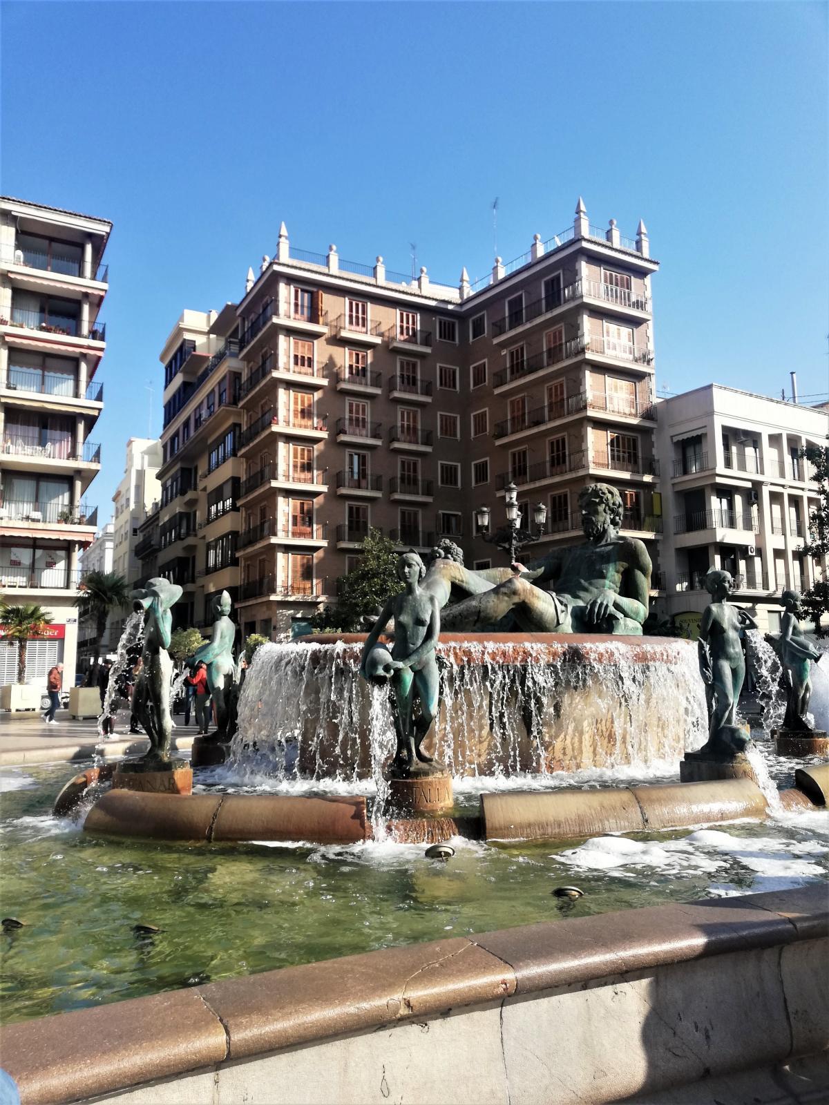 Фонтан Турия в Валенсии / Фото Марина Григоренко