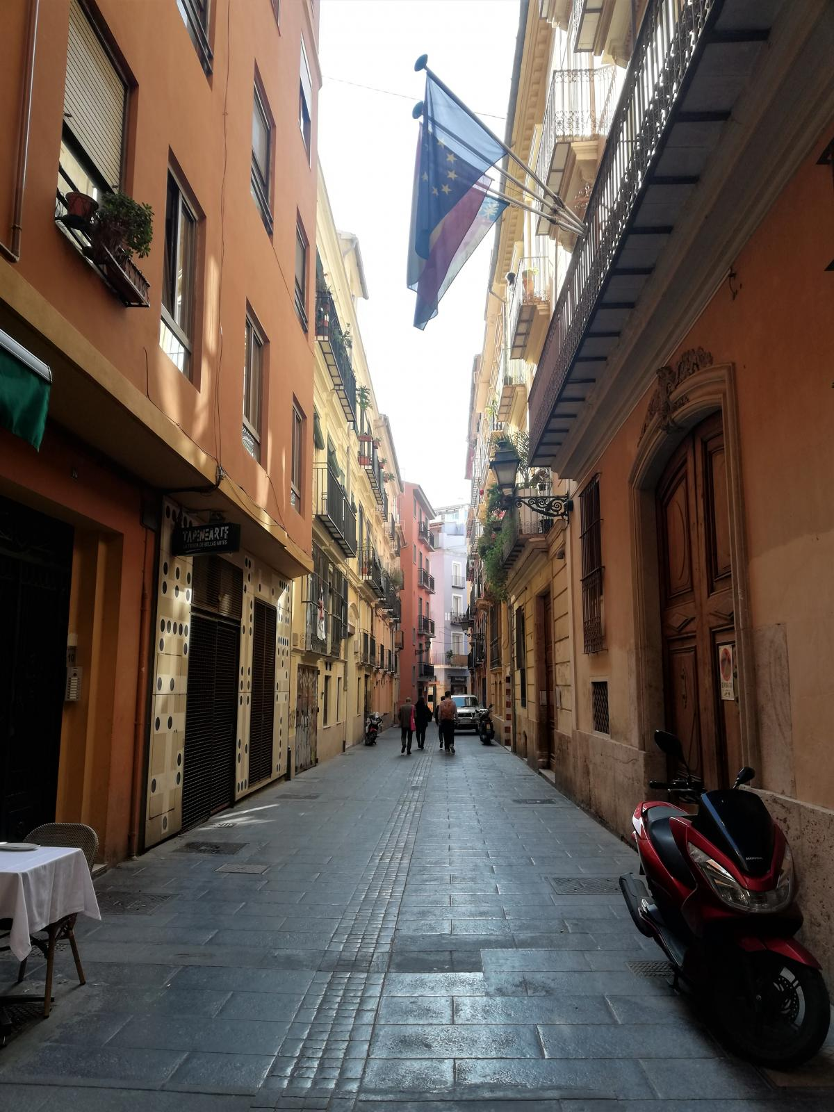 Валенсия хоть и туристический город, но здесь очень уютно / Фото Марина Григоренко
