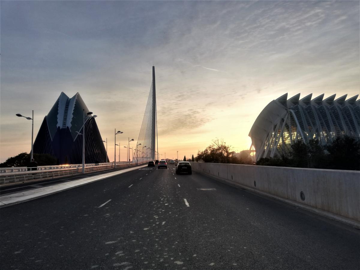 Валенсия - очень комфортный город / Фото Марина Григоренко