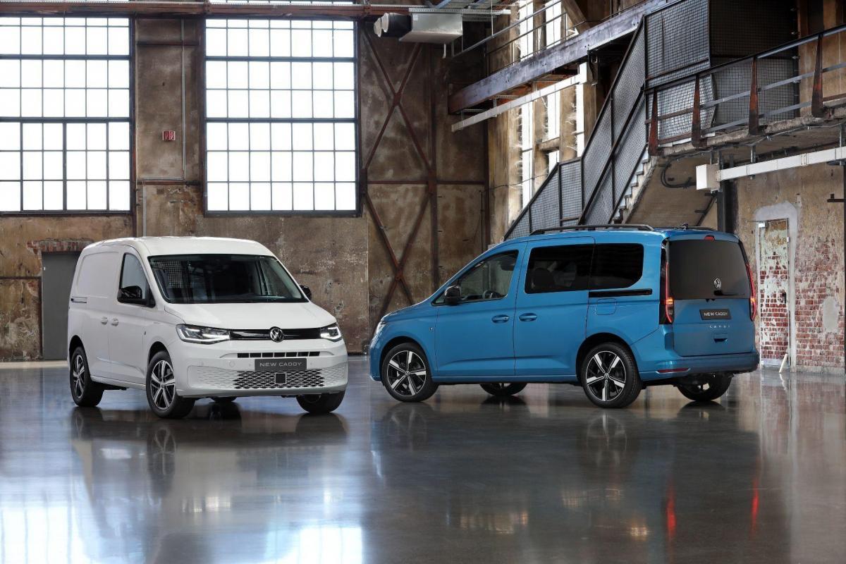 Volkswagen представил Caddy нового поколения / фото Volkswagen