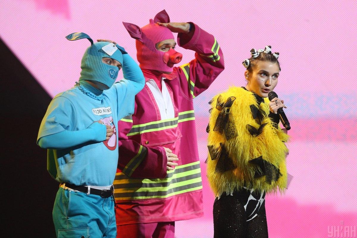 Jerry Heil на сцені Нацвідбору на Євробачення / фото УНІАН