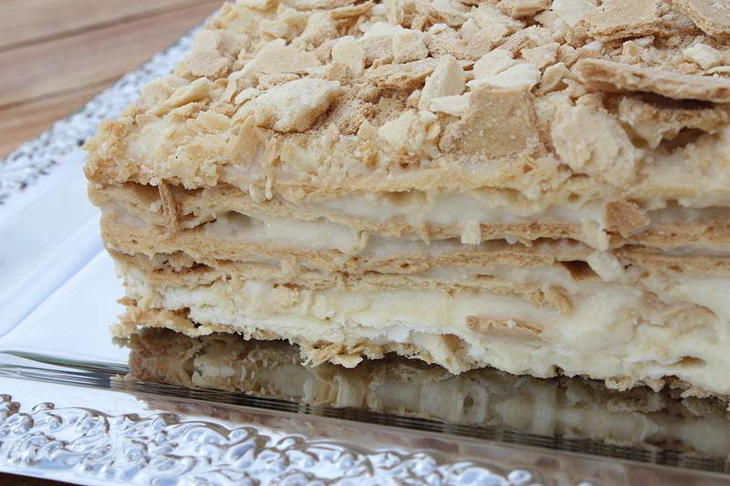 Торт Наполеон / Фото: вікіпедія