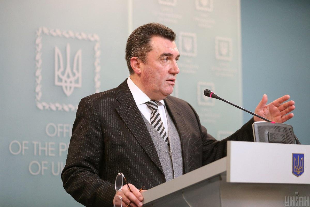 NSDC Secretary Danilov / Photo from UNIAN