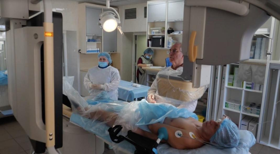 Якщо одна з трьох серцевих судин закривається, то людина або вмирає, або стає інвалідом / Фото: скріншот