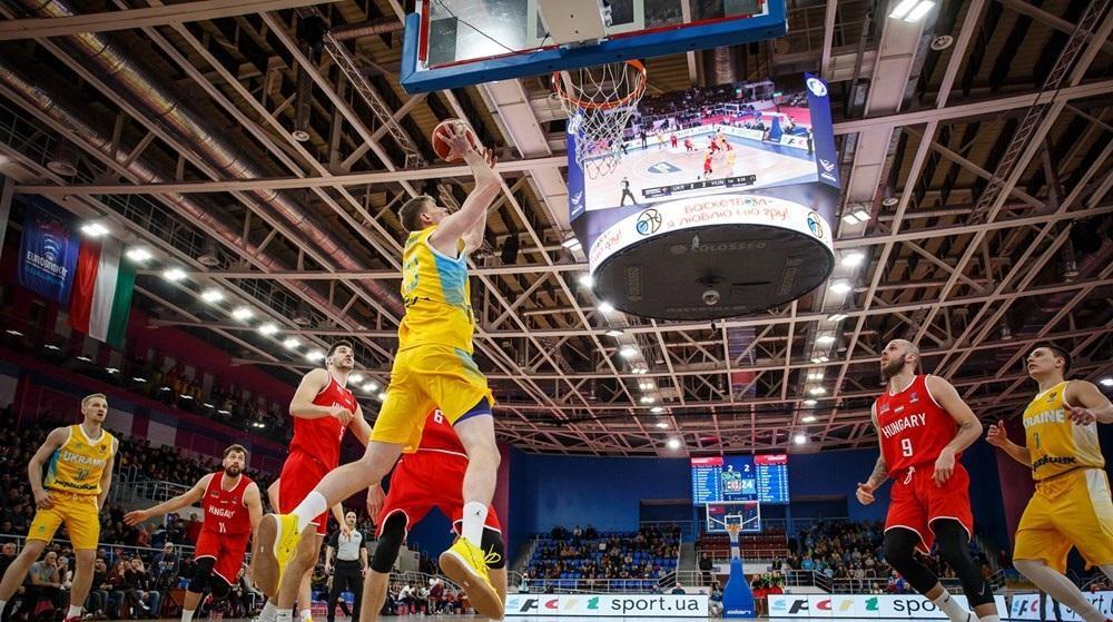 Украинцы провели сложный матч в Запорожье / фото: fbu.ua