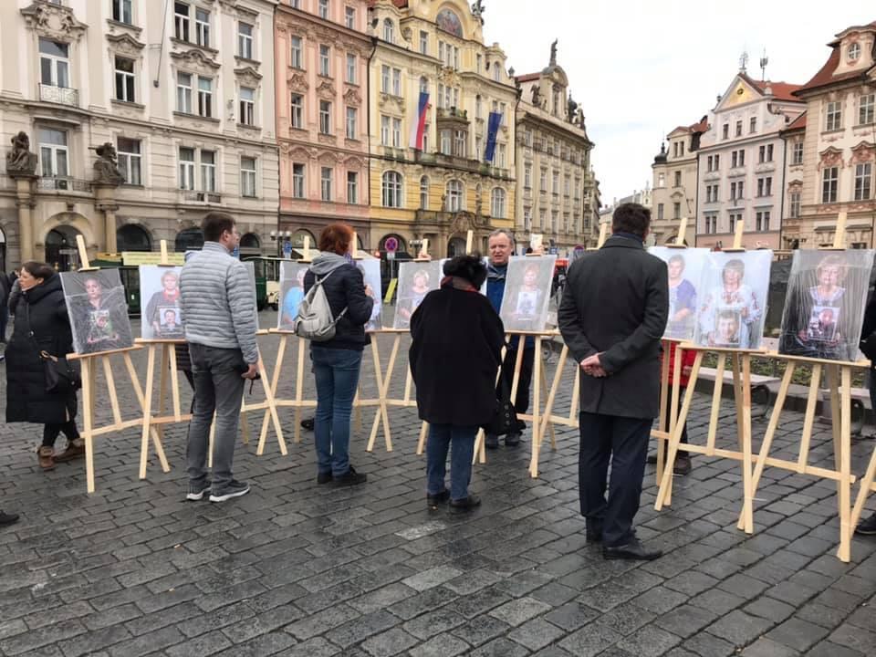 У Празі відкрили виставку про матерів загиблих українських військових / фото facebook.com/UkraineEmbassyinCzechia