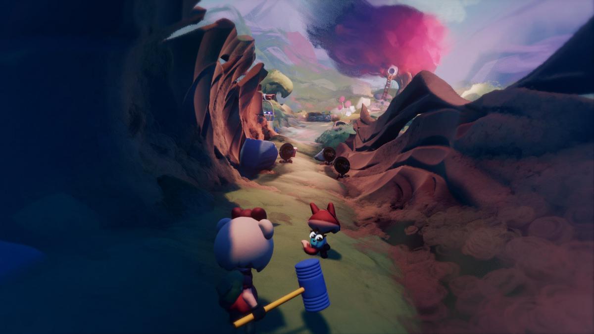 """Классический платформер с двумя персонажами в """"Грезах Арта"""" / скриншот"""